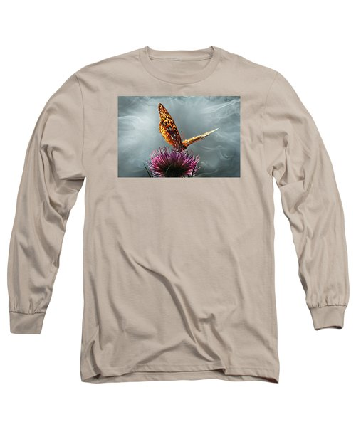 Long Sleeve T-Shirt featuring the photograph Winged Things by Jessica Brawley