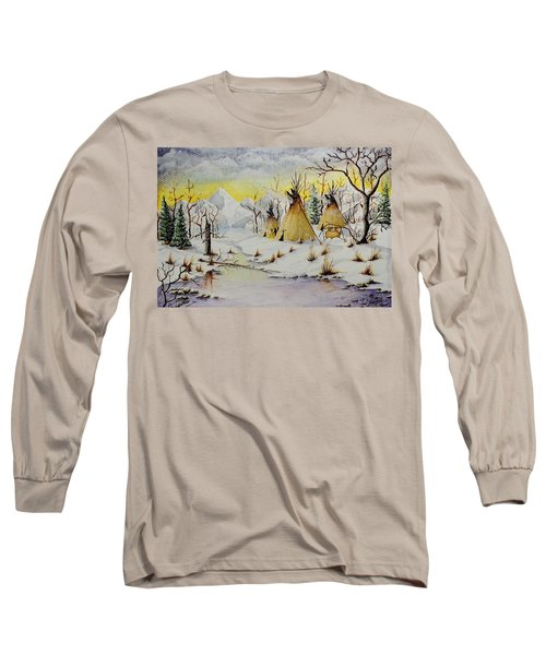 Winter Camp Long Sleeve T-Shirt