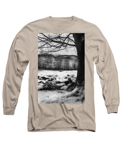 Long Sleeve T-Shirt featuring the photograph Winter Dreary by Bill Wakeley