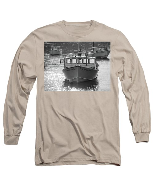 Winter Harbor, Maine  Long Sleeve T-Shirt by Trace Kittrell