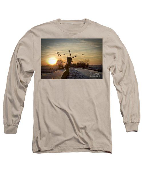 Winter In Holland-2 Long Sleeve T-Shirt