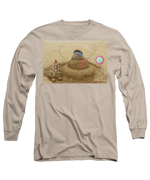 Long Sleeve T-Shirt featuring the photograph Winter In July by Colleen Kammerer