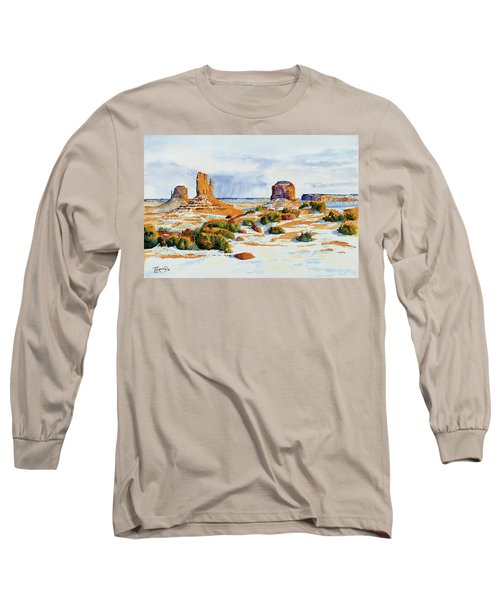 Winter In The Valley Long Sleeve T-Shirt