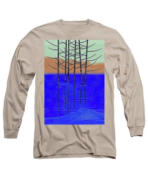 Winter Lake Long Sleeve T-Shirt