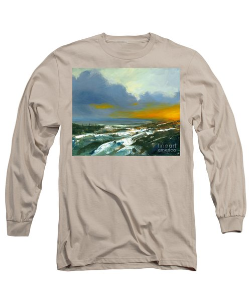 Winter Lake View Long Sleeve T-Shirt