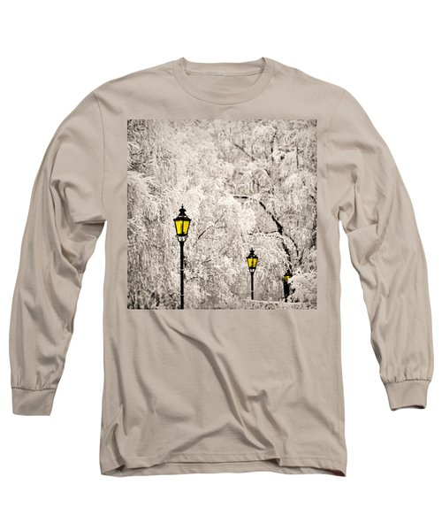 Winter Lanterns Long Sleeve T-Shirt