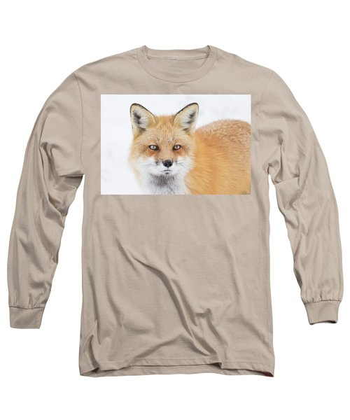 Long Sleeve T-Shirt featuring the photograph Winter Portrait by Mircea Costina Photography