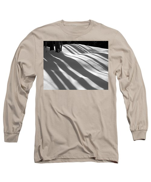 Winter Shadows Long Sleeve T-Shirt