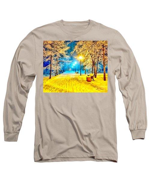 Winter Street Long Sleeve T-Shirt