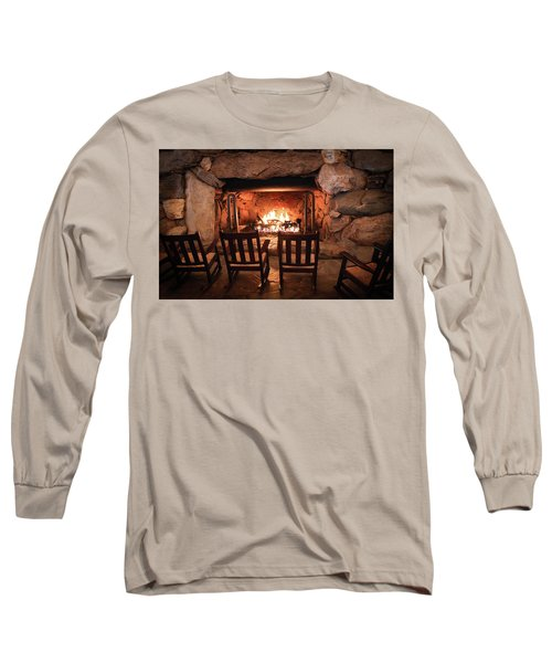 Long Sleeve T-Shirt featuring the photograph Winter Warmth by Karen Wiles