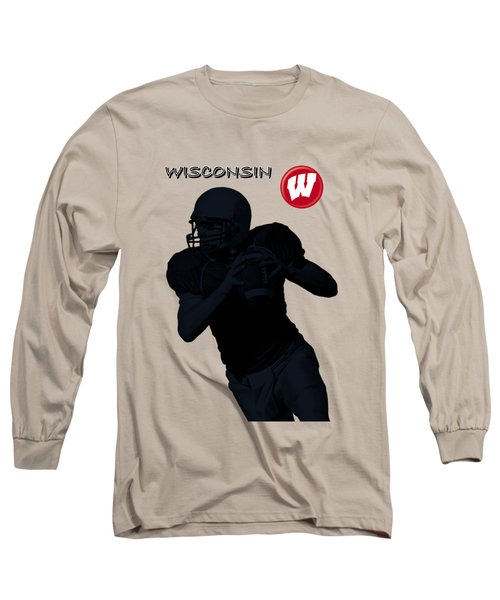 Wisconsin Football Long Sleeve T-Shirt