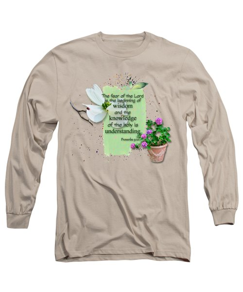 Wisdom And Knowledge Long Sleeve T-Shirt by Larry Bishop