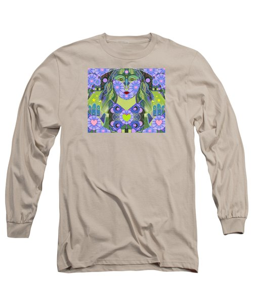 Wisdom Rising Long Sleeve T-Shirt by Helena Tiainen