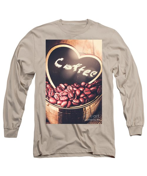 With Light And Coffee Love Long Sleeve T-Shirt
