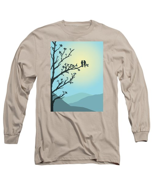 Long Sleeve T-Shirt featuring the digital art With You By My Side by Christina Lihani