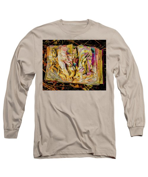 Within Pages Of Gold Long Sleeve T-Shirt