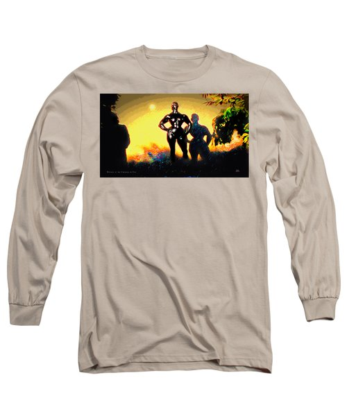 Witness At The Creation Of Eve Aws 2 Long Sleeve T-Shirt