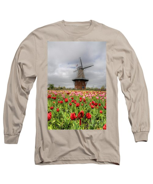 Long Sleeve T-Shirt featuring the photograph Wjndmill Island 2 by Robert Pearson