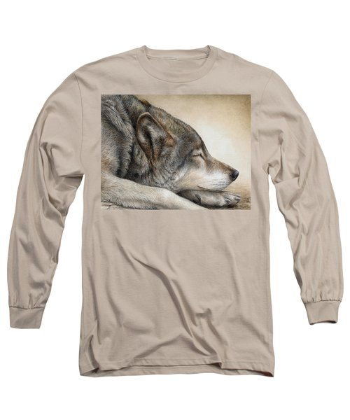Wolf Nap Long Sleeve T-Shirt