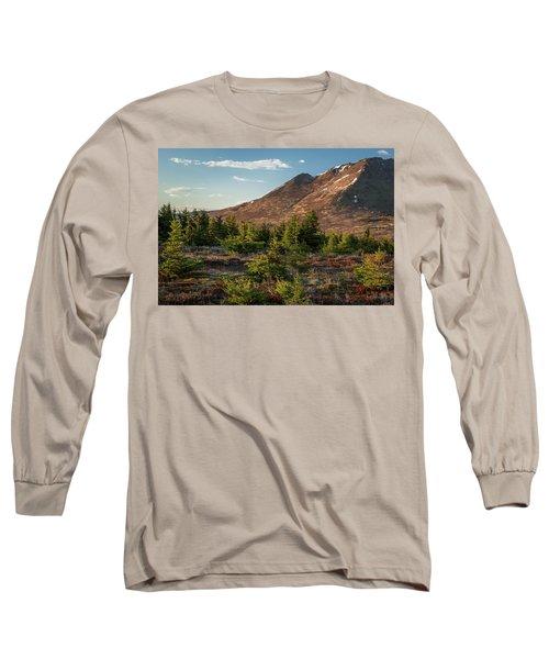 Wolverine Mt Near Sunset Long Sleeve T-Shirt