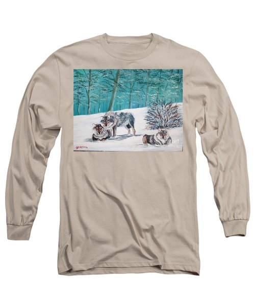 Wolves In The Wild Long Sleeve T-Shirt