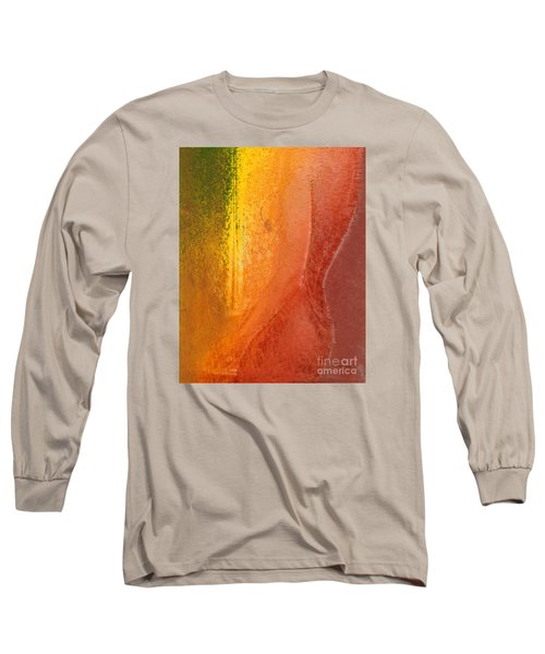 Long Sleeve T-Shirt featuring the digital art Woman In Window Light by Haleh Mahbod