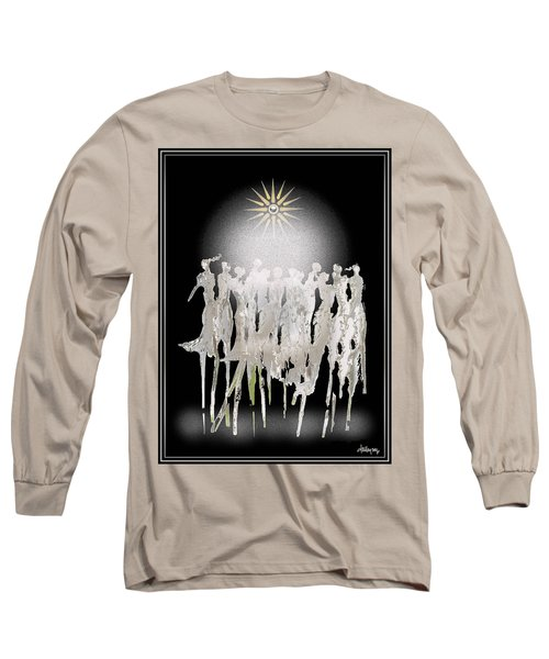 Women Chanting - Spirit Dance Long Sleeve T-Shirt