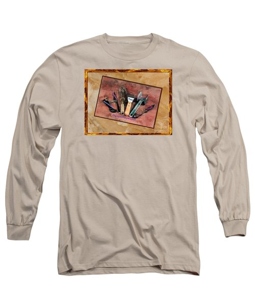 Women's Favorite Tools Long Sleeve T-Shirt by Shirley Mangini