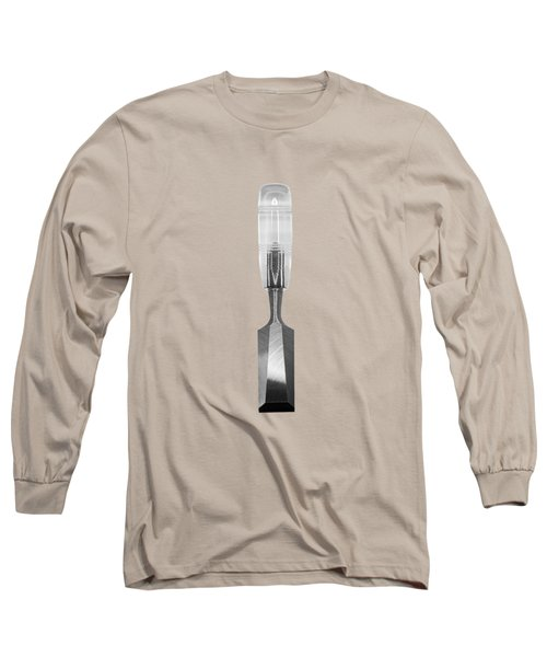 Wood Chisel In Bw Long Sleeve T-Shirt