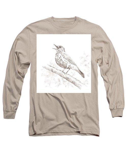 Wood Thrush Long Sleeve T-Shirt