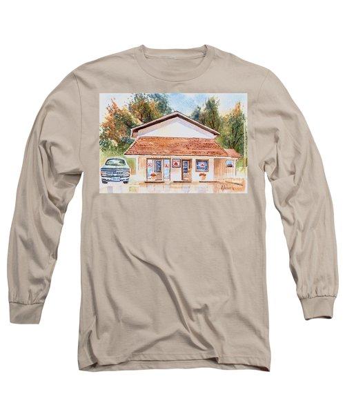 Woodcock Insurance In Watercolor  W406 Long Sleeve T-Shirt