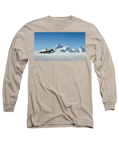 Wooden Alpine Cabin  Long Sleeve T-Shirt