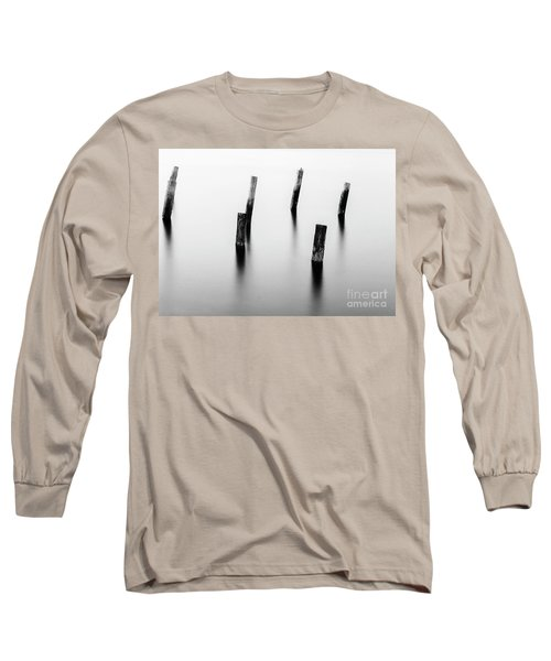 Wooden Post Long Sleeve T-Shirt