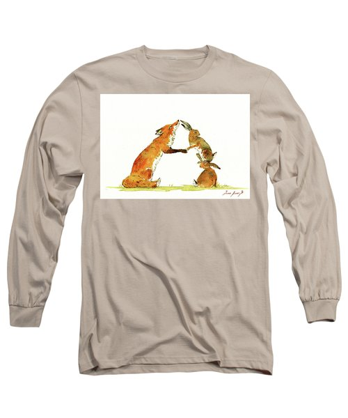 Woodland Letter Long Sleeve T-Shirt