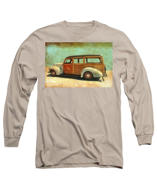 Woody - Photo By Bill T. Long Sleeve T-Shirt