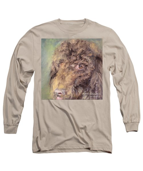 Woody Long Sleeve T-Shirt by Laurie Rohner