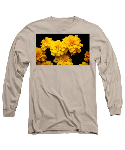 World In Yellow Long Sleeve T-Shirt