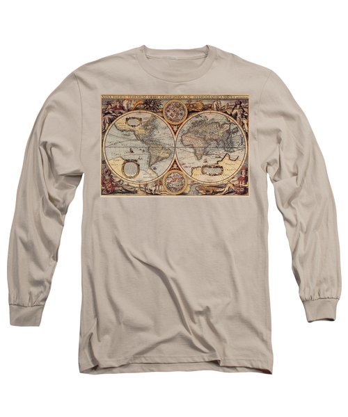World Map 1636 Long Sleeve T-Shirt