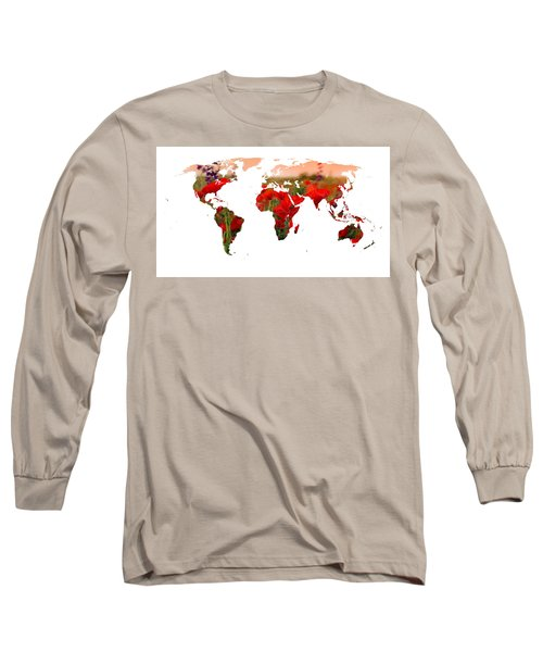 World Of Poppies Long Sleeve T-Shirt