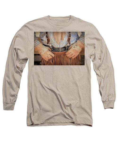 Wrangler Gloves Long Sleeve T-Shirt