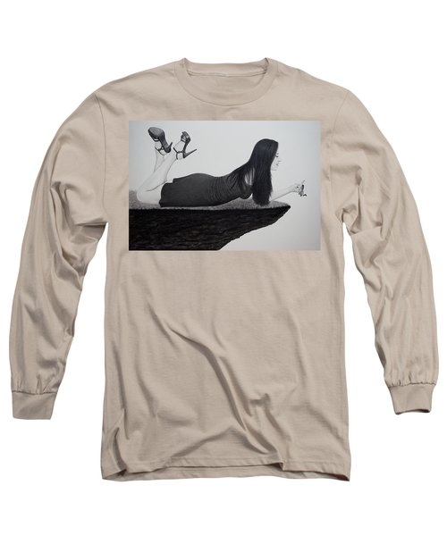 Wrapped Around My Middle Finger Long Sleeve T-Shirt