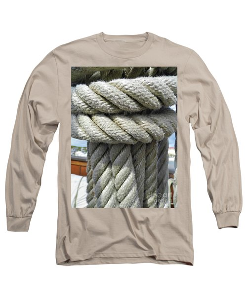 Wrapped Up Tight Long Sleeve T-Shirt by D Hackett