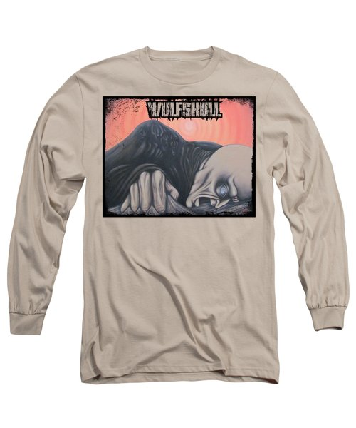Wulfskull#4 Long Sleeve T-Shirt
