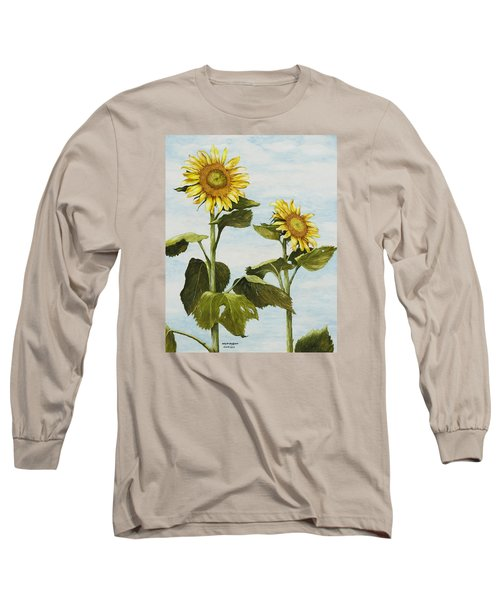 Yana's Sunflowers Long Sleeve T-Shirt