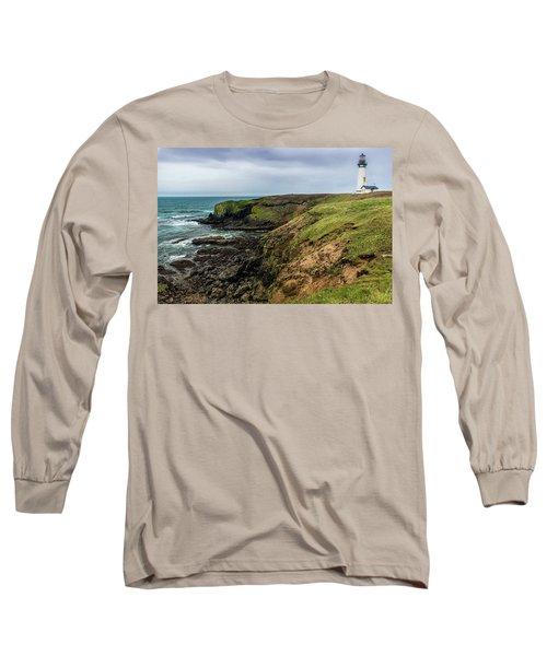 Yaquina Head Light Long Sleeve T-Shirt