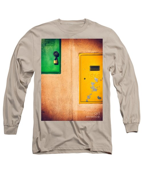 Long Sleeve T-Shirt featuring the photograph Yellow And Green by Silvia Ganora