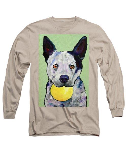 Yellow Ball Long Sleeve T-Shirt