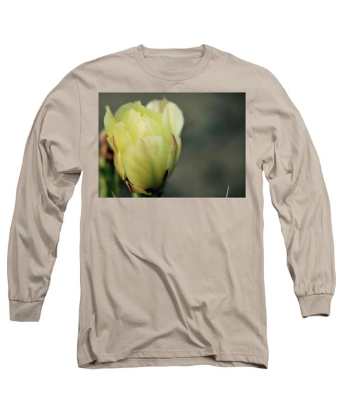 Yellow Beauty Long Sleeve T-Shirt