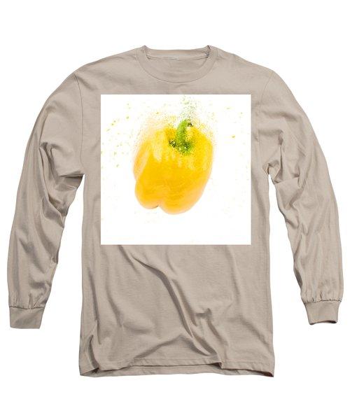 Yellow Bell Pepper  Long Sleeve T-Shirt