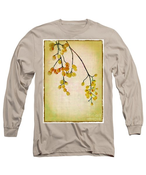 Yellow Berries Long Sleeve T-Shirt
